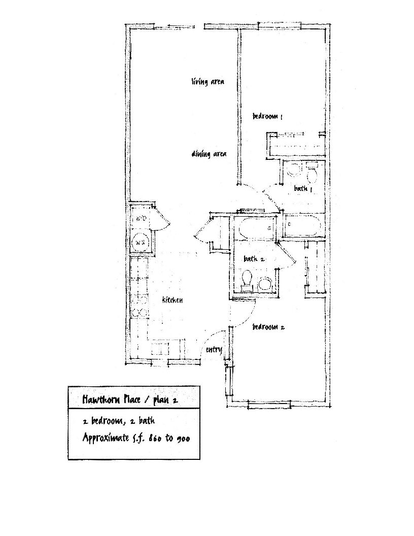Hawthorn Place Floor Plan 2