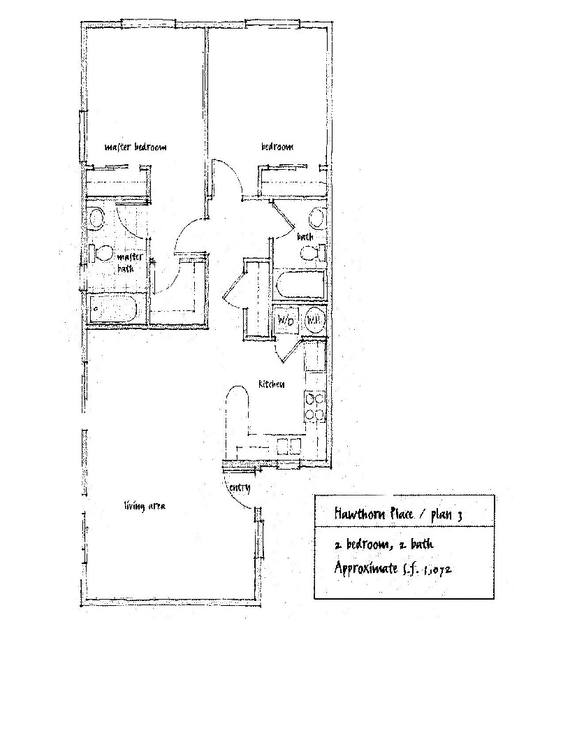 Hawthorn Place Floor Plan 3