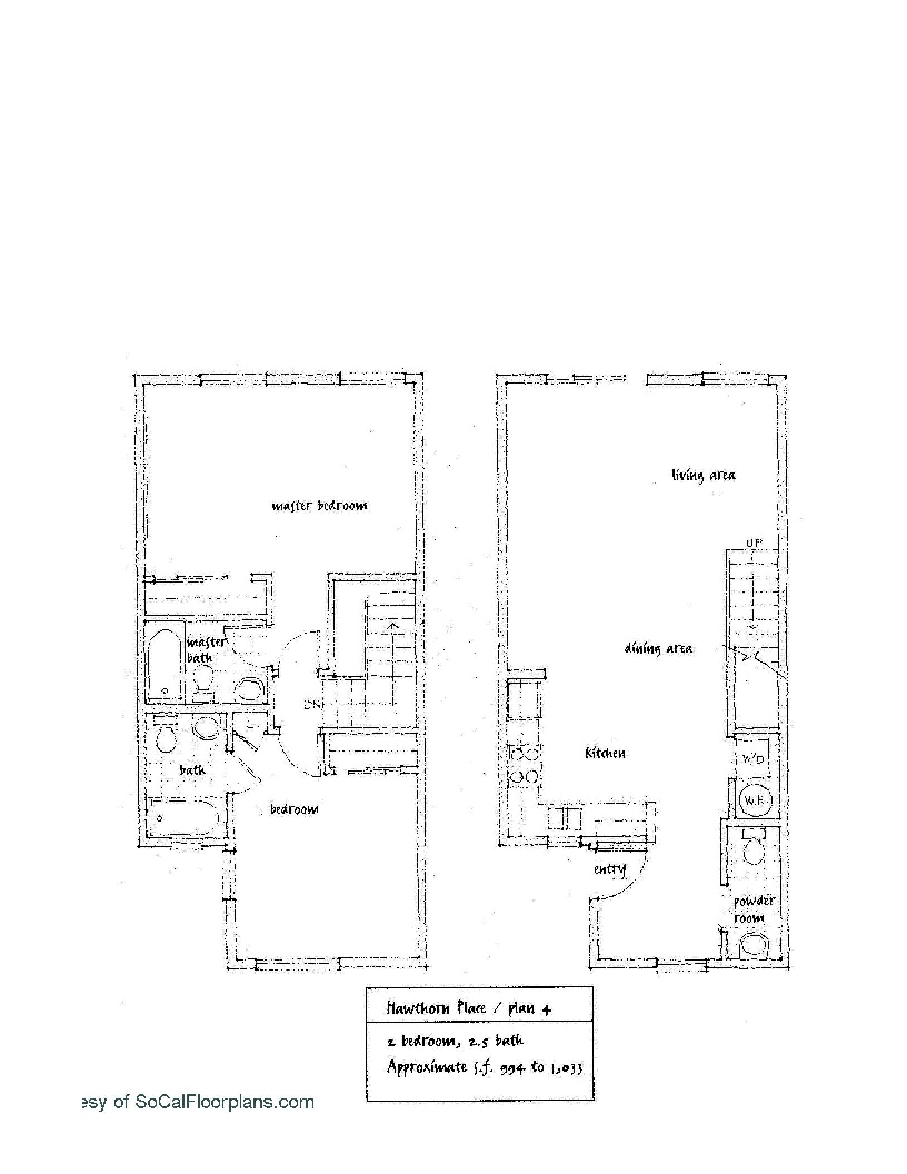 Hawthorn Place Floor Plan 4