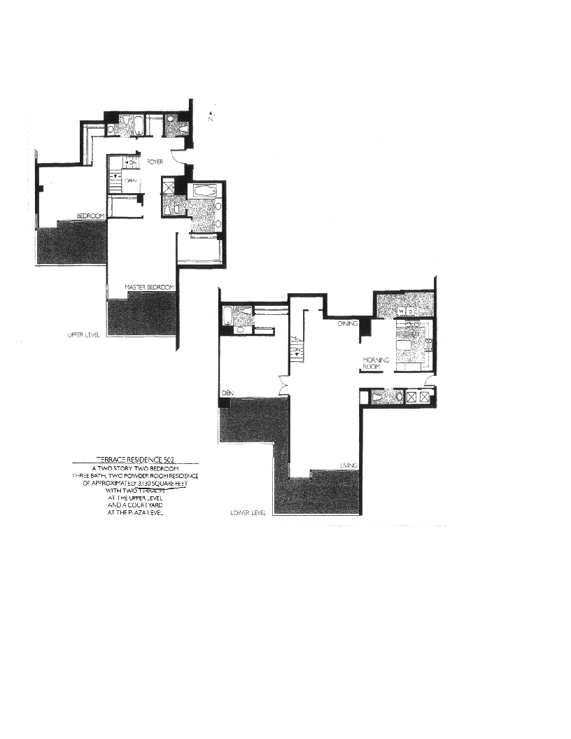 Meridian  Floor Plan 502