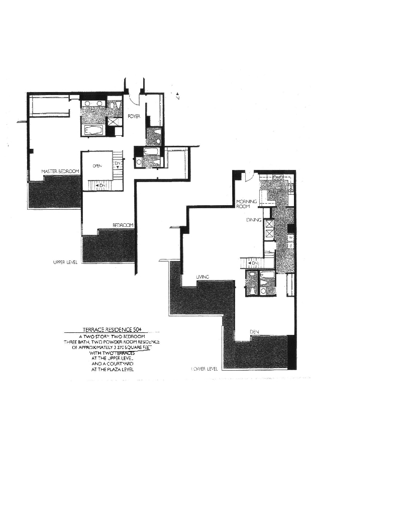 Meridian  Floor Plan 504