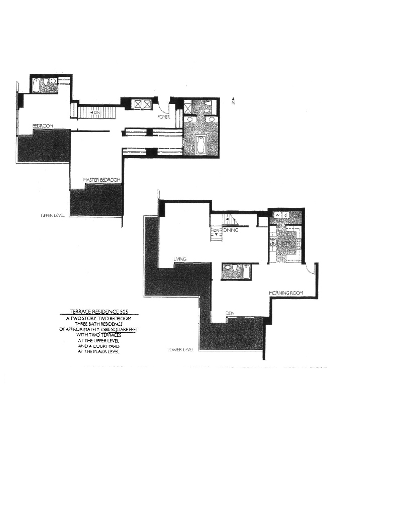 Meridian  Floor Plan 505