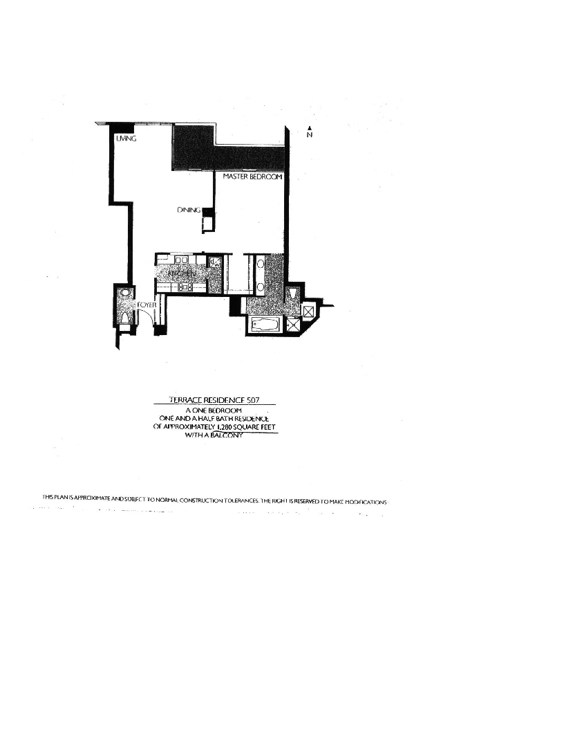 Meridian  Floor Plan 507