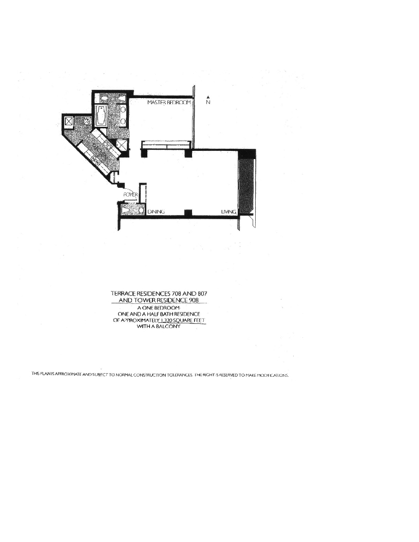 Meridian  Floor Plan 708, 807, & 908
