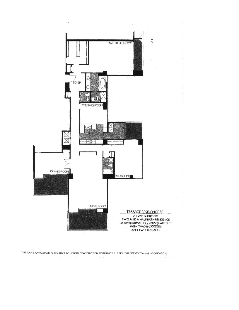Meridian  Floor Plan 801