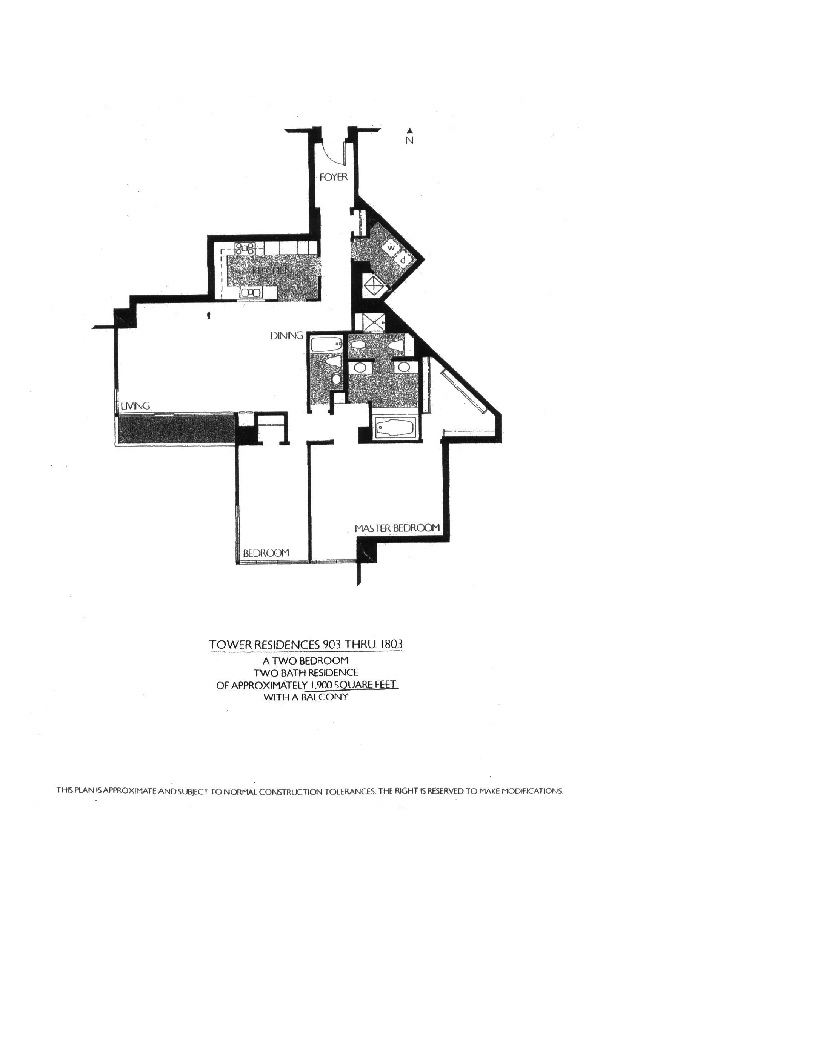 Meridian Floor Plan 903 thru 1803