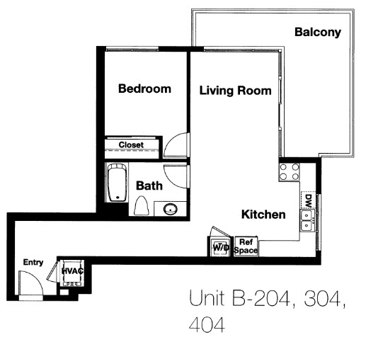 Nexus Floor Plan B1