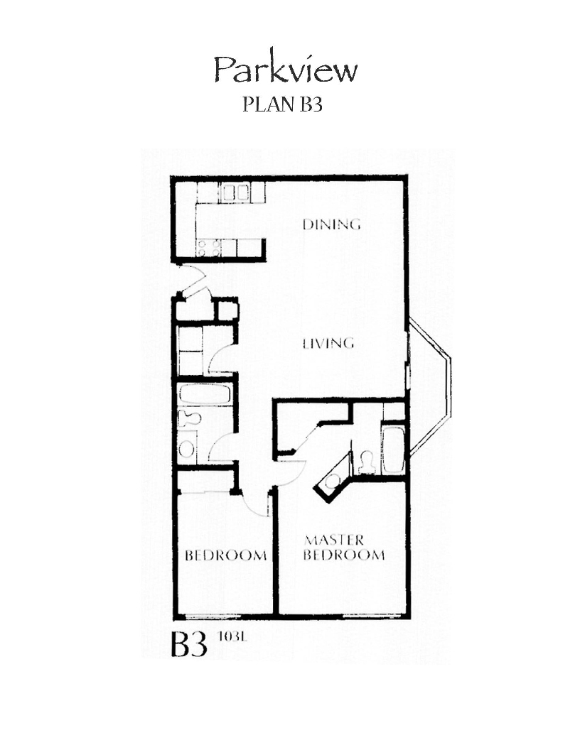 Parkview Floor Plan B3
