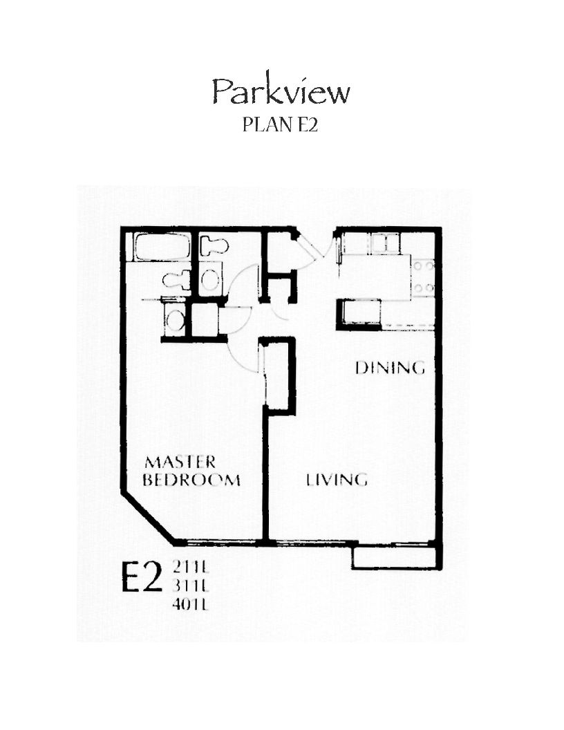 Parkview Floor Plan E2