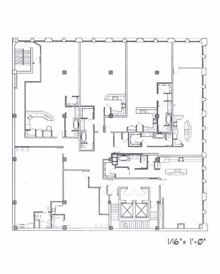Samuel Fox Loft Floor Plan – 3rd Floor
