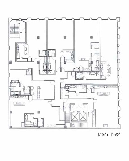 Samuel Fox Loft Floor Plan – 4th Floor