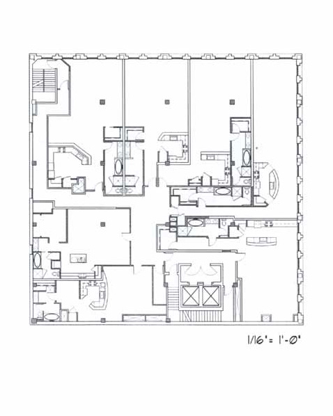 Samuel Fox Loft Floor Plan – 5th Floor