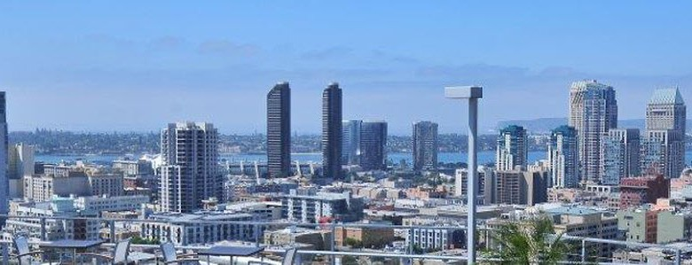 Downtown San Diego - View of City